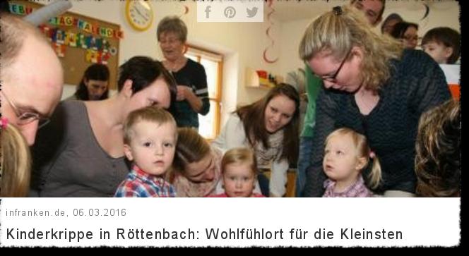 inFranken.de - Kinderkrippe in Röttenbach: Wohlfühlort für die Kleinsten